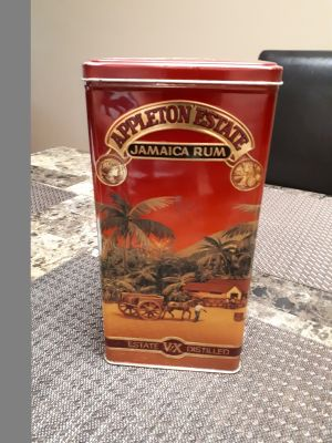 Appleton Estate Jamica Rum Tin