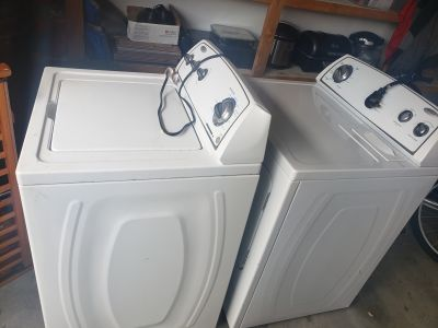 Whirlpool washer and dryer