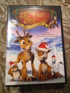 Little Brother Big Trouble Christmas DVD - Perfect Condition!