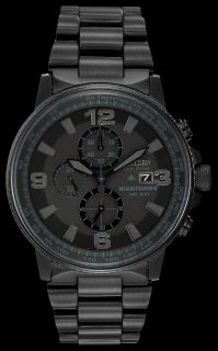 new Citizens eco drive nighthawk mens watch