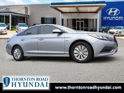 2017 Hyundai Sonata Hybrid SE (Pewter Gray Metallic)