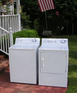 Washer and Dryer price for set-General Electric/Hotpoint Huge Tub