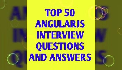 Top AngularJS Interview Questions and Answer