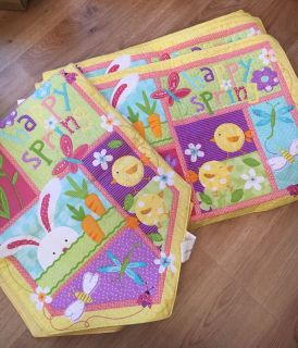 Easter Cotton Placemats & Table Runner