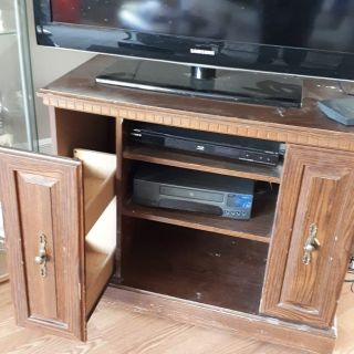 Tv stand electronics not included