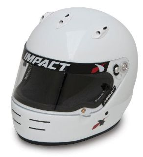 Buy IMPACT RACING 17199609 SS HELMET X LARGE WHITE SA2010 motorcycle in Moline, Illinois, US, for US $399.99