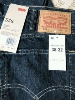 levi strauss & co. mens Levis 559 relaxed straight fit jeans