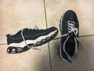 Women's gym shoes size 7 shoes Navy