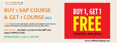 HURRY UP LAST 2 DAYS BUY 1 GET 1 COURSE NOW - ADD 2 COURSES TO CART AND PAY FOR 1 COURSE . COUPON : BUY2PAY1 OFFER Valid Till 14 Th May
