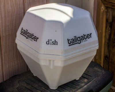 Tailgator Sat Dish and Receiver