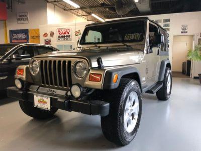 2003 Jeep Wrangler Sport (Tan)