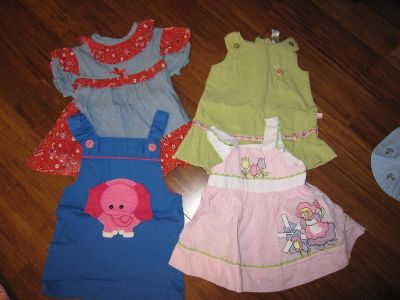 12 month Baby Girl Clothing