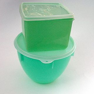 2 Eagle Super Seal Storage Containers