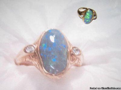Ladies Opal Ring