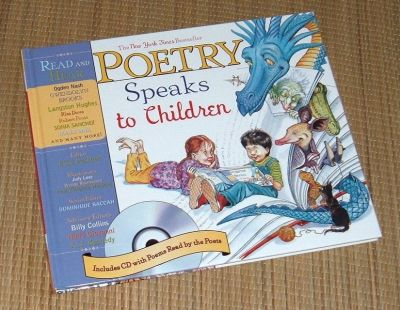 NEW Poetry Speaks to Children HardCover Book 100+ Poems 50 Brought To Life on CD