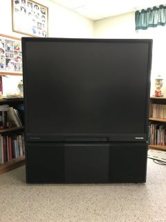 FREE 50 inch projection tv