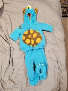 Old navy 6-12mo monster costume