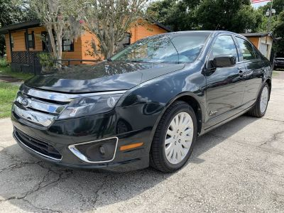 2010 Ford Fusion Hybrid Base (Green (Dark))