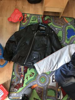 Leather jacket $20