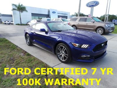 2016 Ford Mustang ecoboost (Deep Impact Blue Metallic)