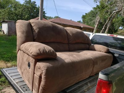 Full reclining couch