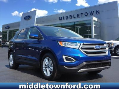 2015 Ford Edge SEL (Deep Impact Blue Metallic)