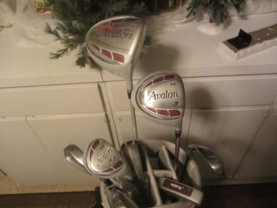 Women's Avalon golf set w/bag Right handed
