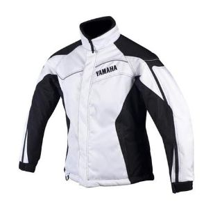Find YAMAHA OEM Women's Yamaha Trail Jacket White Size 10 motorcycle in Maumee, Ohio, US, for US $89.99