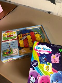 Sort and snap and matching game-never opened