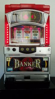 Pachislo Slot Machine - Banker 9 - PRICE REDUCED - Japanese Collectible