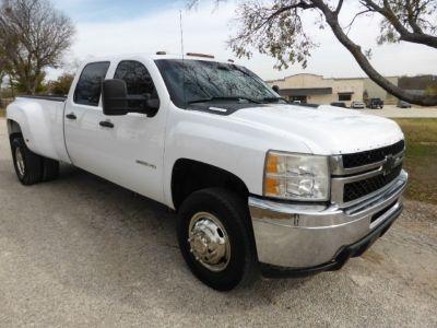"2011 Chevrolet Silverado 3500HD 4WD Crew Cab 167.7"" DRW Work Truck"
