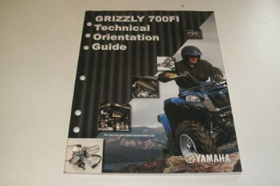 Sell YAMAHA ATV DEALER TECHNICAL SERVICE ORENTATION GUIDE 2006 700 FI GRIZZLY motorcycle in Sunbury, Pennsylvania, United States, for US $59.95