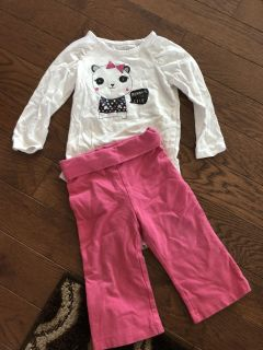 18 Month Onesie & 12 Month Pant