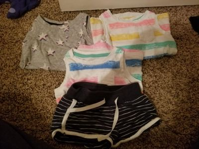 Lot of Cat and Jack summer clothes