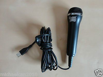 Logitech guitar hero usb microphone