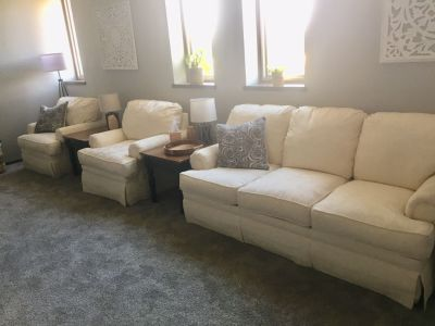 Couch & Chairs Set (Like New)