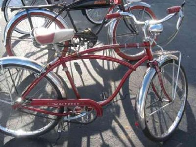 $350 55/56 men's Schwinn corvette 3sp