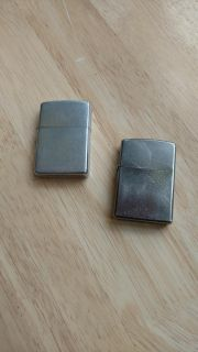 Two Zippo lighters - prices for both