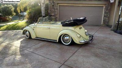 1958 Volkswagen Bug convertible fully restored
