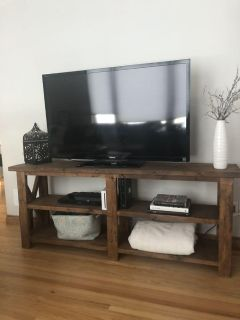 Rustic tv stand/console