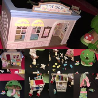 Little Critter Toy Shop, Tree House, Bookshelf and little critter characters
