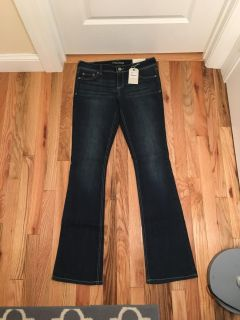 Maurice s Ellie Slim Boot Jeans. Dark Wash. Size 7/8 Long. Brand New with Tags.