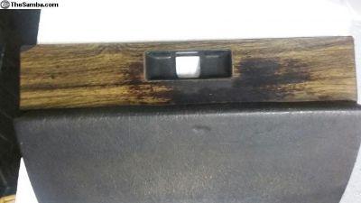 1973 and later wood grain glove box door