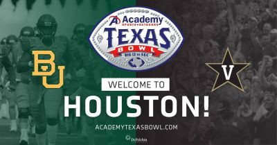 (5) TEXAS BOWL 2nd Row Lower Level Tix - Baylor vs Vanderbilt - Dec 27 - BELOW COST!