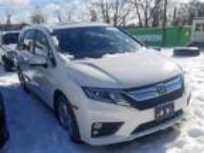 Salvage 2019 HONDA ODYSSEY EXL for Sale