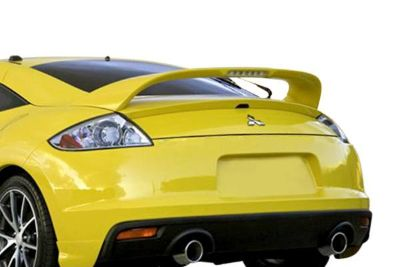 Sell Pure FG-237 - Mitsubishi Eclipse Factory Style Rear Spoiler w Light Fiberglass motorcycle in Grand Prairie, Texas, US, for US $224.95