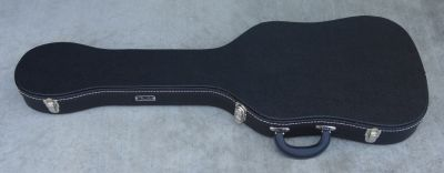 Fender TELECASTER THERMOMETER CASE - Black Tolex W/ Black Poodle Interior - BRAND NEW