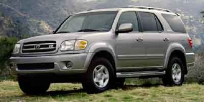 2001 Toyota Sequoia Limited (Natural White)