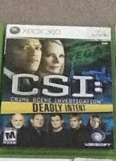 Xbox 360 CSI: Deadly Intent Game