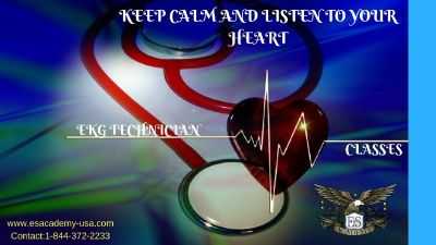 Go for the career your heart beats for!- Become a EKG Technician